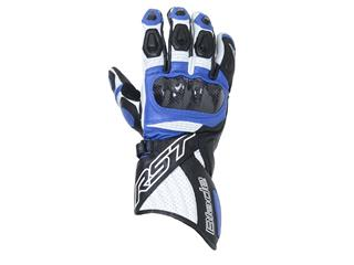 RST Blade II CE Gloves Leather Blue Size S/08
