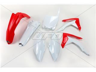 UFO Plastic Kit OEM Color Red/White Honda CRF250R/450R