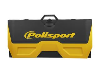 POLISPORT yellow/black Foldable Bike Mat