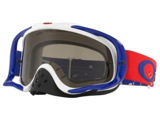 OAKLEY Crowbar MX Goggle Checked Finish Dark Grey Lens