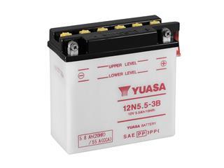 Batterie YUASA 12N5.5-3B conventionnelle - 3212N553B