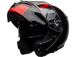 BELL SRT Modular Helm Ribbon Gloss Black/Red Größe M