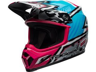 BELL MX-9 MIPS Helmet Tagger Asymmetric Gloss Blue/Pink Size XXL