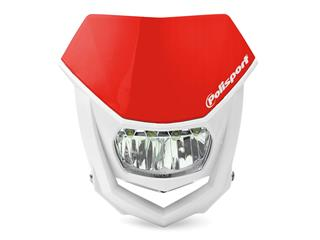 Plaque phare POLISPORT Halo LED rouge/blanc - 786671RD