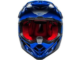 Casque BELL Moto-9 Flex Fasthouse DID 20 Gloss Blue/White taille XL - d9916285-9d33-4a4c-8db4-8236af417967