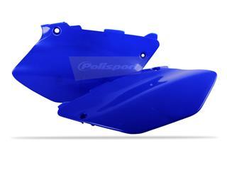 Plaques latérales POLISPORT bleu Yamaha YZ125/YZ250 - PS117B04