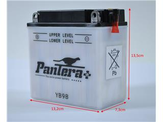 Batterie PANTERA+YB9B conventionnelle - YB9B-P+