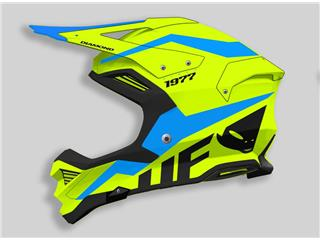 UFO Diamond Helmet Neon Yellow/Blue Size XS - 801000622367