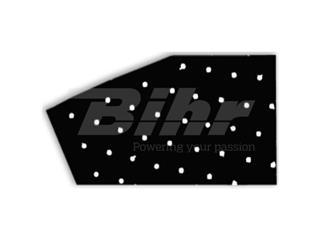 Adhesivo fondo para dorsal transpirable Blackbird negro - Pack de 3 Uds 5052/20