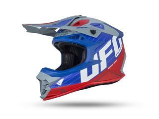 UFO Intrepid Helmet Grey/Blue/Red Size M - 801001491069