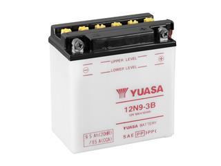 Batterie YUASA 12N9-3B conventionnelle - 3212N93B
