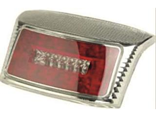 V PARTS Rear Light R8 type LED Chromed MBK/Yamaha