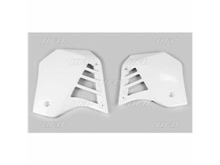 Ouïes de radiateur UFO blanc Yamaha YZ125 - 78433113