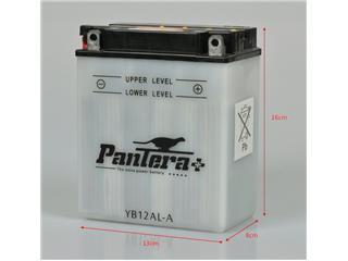 Batterie PANTERA+ YB12AL-A conventionnelle