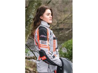 RST Pro Series Paragon V Jacket Textile silver/Flo Red Size L Women - dc71bc79-ebfd-4439-88dc-e070c190d276