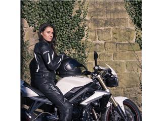 Veste RST Blade II cuir blanc taille S femme - dc83dec9-79d8-4475-a5a8-5b4dc3aeed2d