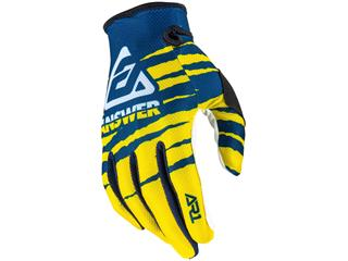 Gants ANSWER AR1 Pro Glow Yellow/Midnight/White taille L
