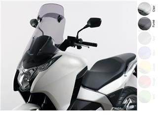 MRA X-Creen touring integrated Honda clear windshield 700