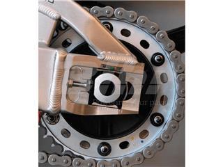 Porca de coroa 10mm x 1,25 (6 pack) alumínio preta Pro-Bolt SPN10BK