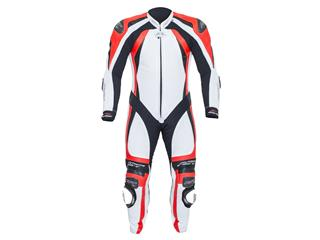 RST Pro Series CPX-C II Suit Leather Summer White/Flo Red Size XL Men