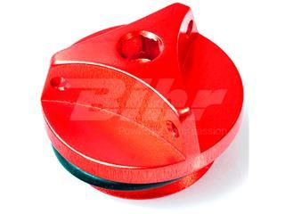 Tapón de llenado de aceite Pro-Bolt Yamaha Aluminio rojo OFCY10R - 42480
