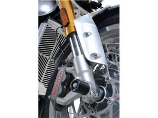 R&G RACING Fork Protectors Black Triumph Thruxton/Thruxton R