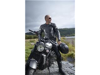 Veste cuir RST GT CE blanc taille 2XL homme - dddccd44-8525-41c1-85b5-066996d9f77a