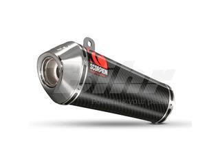 Escape Scorpion Power Cone Yamaha YZF-R6 (06-) Carbono/Inox - de20d55c-553c-411c-af2f-3430cceb10ab