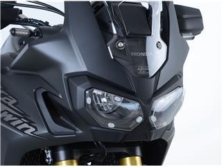 R&G RACING Headlight Shield Translucent Honda Africa Twin 1000 - 445550