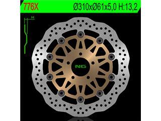 NG 776X Brake Disc Petal Floating