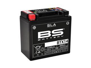 Batterie BS BATTERY BTX14 SLA sans entretien activée usine - 321060