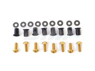 Kit parafusaria viseira alumínio Pro-Bolt ouro SK020G - 54777