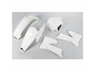 UFO Plastic Kit White KTM SX85