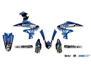 Kit plastique & déco UFO couleur origine Yamaha YZ450F - 4420005198