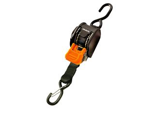 CARGO BUCKLE Retractable Mini 3G Straps with Dual S-Hooks