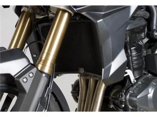 R&G RACING Radiator Guard Aluminium Black Triumph Tiger 1200 Explorer