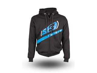 S3 Alaska Hoodie Black/Blue Size L - 825000171071