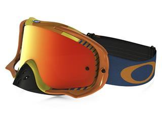 OAKLEY Crowbar Goggle Biohazard Orange Fire Iridium Lens