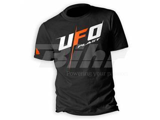 Camiseta casual UFO Alien Negro, Talla L
