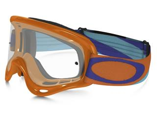 OAKLEY XS O Frame Goggle Heritage Racer Bright Orange Clear Lens