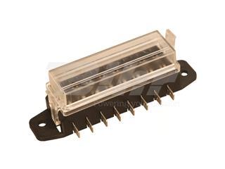Porta fusible BIHR entrada lateral 8 vias