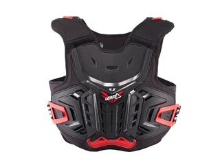 LEATT 4.5 Chest Protector Black/Red Size Junior 134-146cm