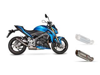 Silencieux SCORPION RP-1 GP titane/casquette titane Suzuki GSX-S1000/1000F