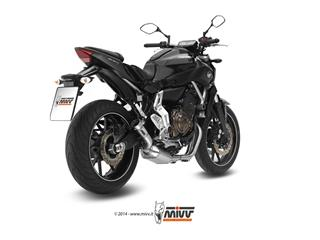 MIVV Speed Edge Stainless Full Exhaust System Yamaha MT-07