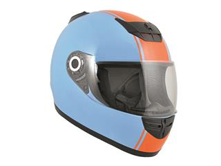 Casque Boost B530 Classic 2015 bleu clair/orange XL