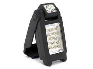 ZECA LED Flashlight w/ adjustable support 2W 140 Lux