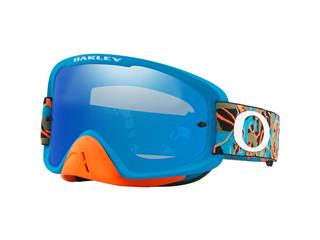 Masque OAKLEY O Frame 2.0 MX Camo Vine Jungle Orange/Blue écran Black Ice Iridium + transparent