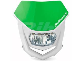 Porta-farol Halo LED homologado Polisport branco/verde 8667100007 - e14b58da-679f-40a8-952f-b299b7716845