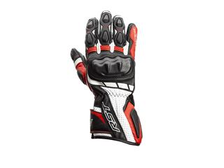 RST Axis CE Gloves Leather Red Size S Men - 815000200308