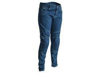 RST Aramid Pants CE Textile Dark Blue Size L Women - 12089DBLU14